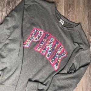 "Victoria Secret ""Pink"" oversized sweat shirt"